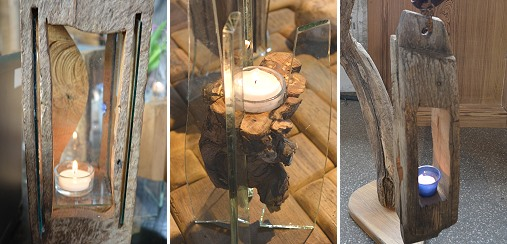 Fachwerklaternen - Holzlichter - Kunst mit Holz, Dinkholder Mühle Schreiner Zmelty