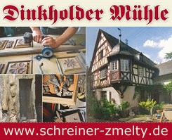 Dinkholder Mühle - Schreiner Zmelty - Historische Fenster und Türen,  Antiquitäten u.a.